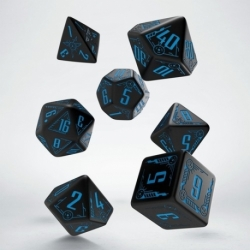 QW DADOS GALACTIC BLACK & BLUE SET (7)