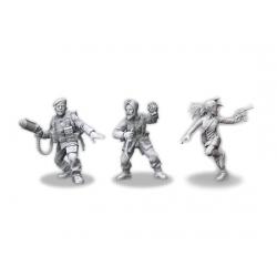 Pack 2 Investigadores de los aliados de Achtung! Cthulhu