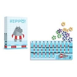 Hippo juego de cartas de Gen X Games para niños