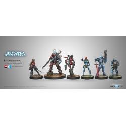 Novedad Infinity, Beyond Icestorm Pack de Expansión + Figura Exclusiva juego de miniaturas