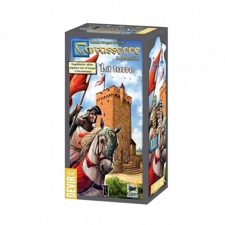 Con Carcassonne: La Torre dispondrás de un sólido almacén donde guardar tus fichas, la propia Torre