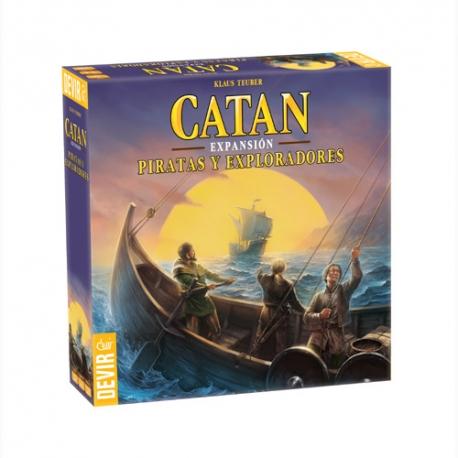 Piratas Y Exploradores Expansión del juego de mesa Catan de Devir