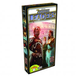 Leaders, an expansion for 7 Wonders feeding in the game celebrities that offer different advantages to your city.