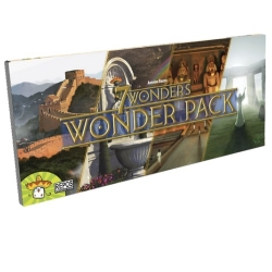 Expansion of Wonderpack boards to extend the basic board game 7 Wonders