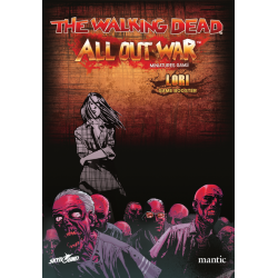 Lori character miniature game The Walking Dead: All Out War