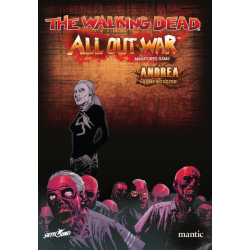 Booster Andrea personaje juego de miniaturas The Walking Dead: All Out War