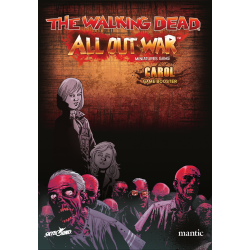 Booster Carol personaje juego de miniaturas The Walking Dead: All Out War