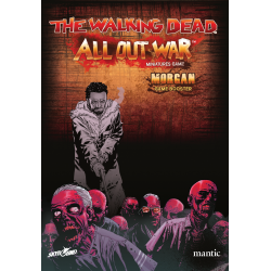 Booster Morgan character miniature game The Walking Dead: All Out War