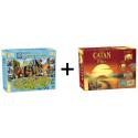Pack Catan + Carcassonne Plus 2017