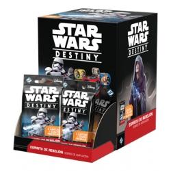 Sobres de ampliación Espíritu de rebelión de Star Wars Destiny