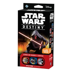 Caja de inicio Kylo Ren de Star Wars Destiny de Fantasy Flight Games