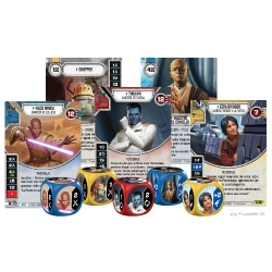 Kit de Evento El Imperio en guerra de Star Wars Destiny de Fantasy Flight Games