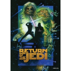 Fundas Ilustradas Return of the Jedi (TM) para cartas