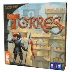 Torres juego de mesa de construcción de Castillos de Devir