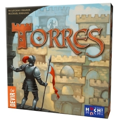 Torres game table of construction of Castles of Devir