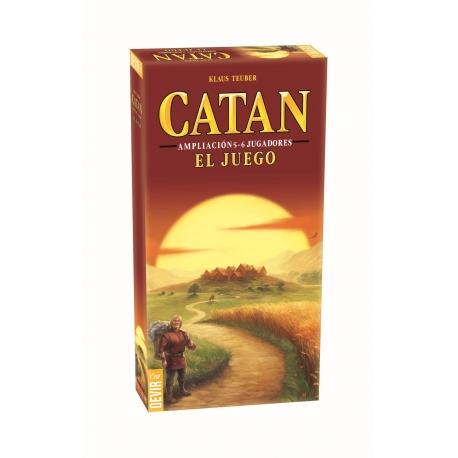 Expansión para 5-6 jugadores del juego de mesa básico Los Colonos De Catan