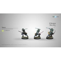 Yu Jing - Shikami (Combi Rifle) 280394-0670 Infinity miniature game