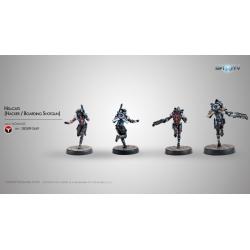 Nómadas - Hellcats (Hacker/Boarding Shotgun) 280589-0669 Infinity miniatures