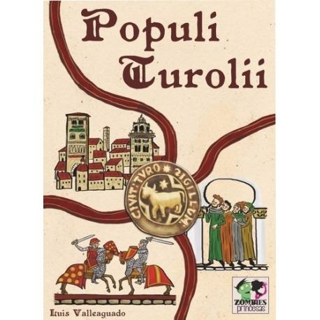Populi Turolii es un juego de cartas basado en la ciudad de Teruel fabricado por Zombies y Princesas
