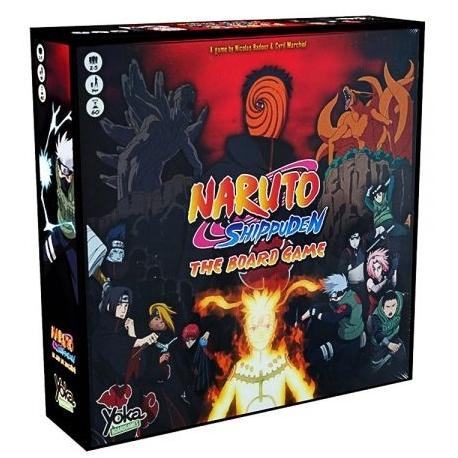 Comprar Naruto Shippuden Juego De Mesa Cooperativo Basado En El