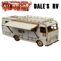 The Dale Caravan from The Walking Dead series All Out War in Spanish