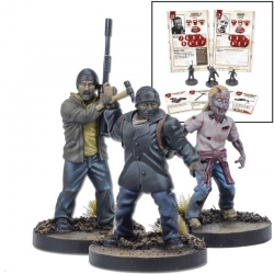 Booster Tyreese del juego de miniaturas The Walking Dead: All Out War