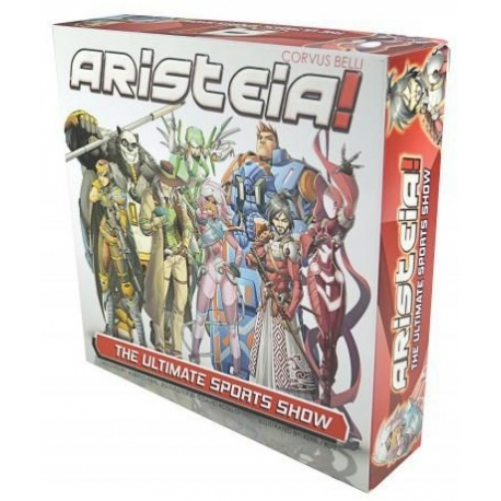 Aristeia! Juego Básico Español de miniaturas de Corvus Belli