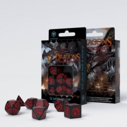QW DRAGONS BLACK & RED SET (7)