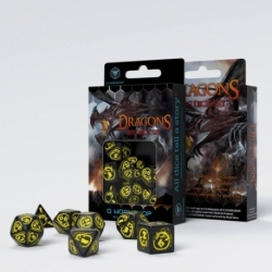 QW DRAGONS BLACK & YELLOW SET (7)