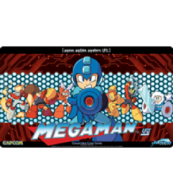 PLAYMAT UFS MEGA MAN CAST