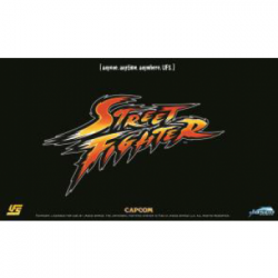 TAPETE UFS STREET FIGHTER LOGO