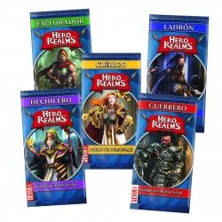 Hero Realms - Sobres de Personajes del juego de cartas de Devir