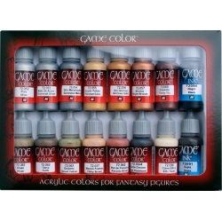 GAME COLOR METAL&LEATHER SET 16 UDS.