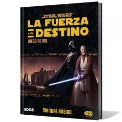 Manual básico Star Wars: La Fuerza y el Destino juego de rol de Fantasy Flight Games