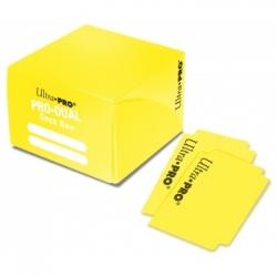 ULTRA PRO DECK BOX DUAL YELLOW
