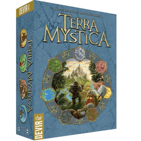 Juego de mesa Terra Mystica de estrategia de Devir