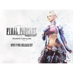 Final Fantasy TCG Opus 5 Kit de Presentación