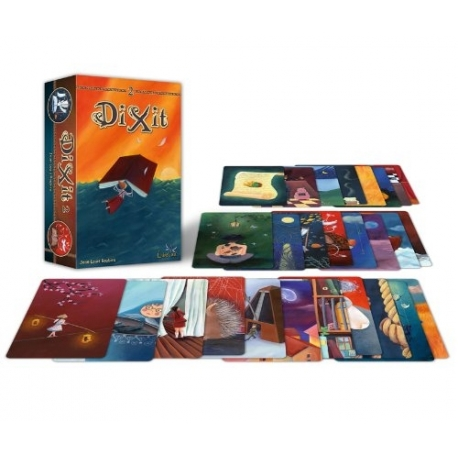 DIXIT 2 QUEST EXPANSION PACK FOR CARD GAME 83 IMAGE CARDS INCLUDED