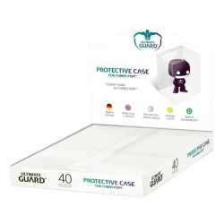 Ultimate Guard case for Funko Pop figures that will allow you to save your figures and keep them from spoiling