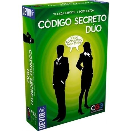 Comprar Juego De Mesa Cooperativo Codigo Secreto Duo De Devir