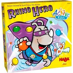 Rhino Hero Active kids es un nuevo juego de Haba para los niños de casa