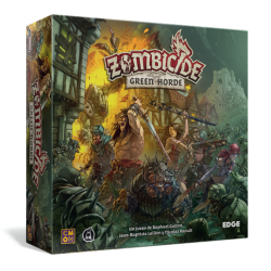 Green Horde Zombicide Black Plague by Edge Entertainment