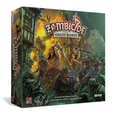 Green Horde Zombicide Black Plague de Edge Entertainment