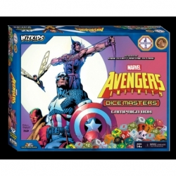 MARVEL DICE MASTERS: AVENGERS INFINITY CAMPAIGN BOX (INGLÉS)