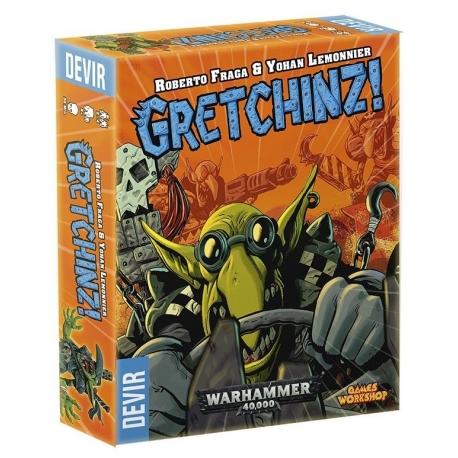 Gretchinz! juego rápido de carreras de Orkos de Devir