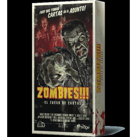 Zombies!!!: El juego de cartas de Edge Entertainment
