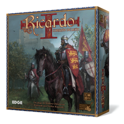 Board game Richard the Lionheart from Edge and CMON