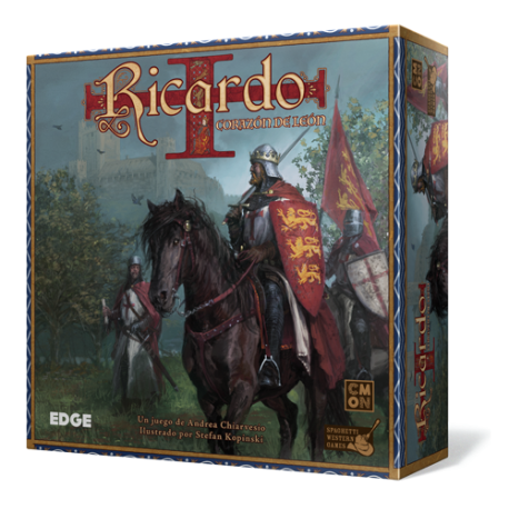 Buy Board Game Richard The Lionheart From Edge And Cmon