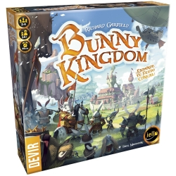 Bunny Kingdom strategy game from iello and Devir
