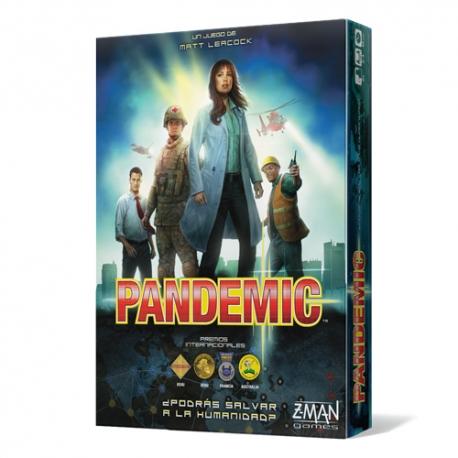 PANDEMIC, deberéis controlar la expansión de cuatro plagas mortales